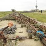 R 7 - Alte Gleisanlagen bei Flut als Netzfänger